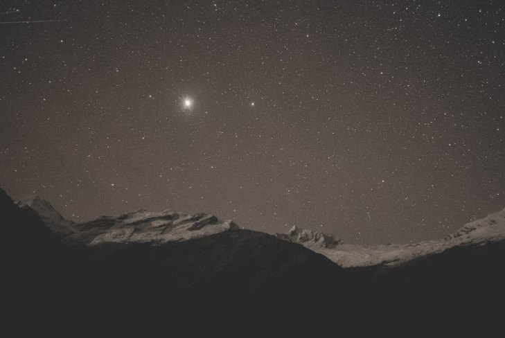 Venus Crossed into Aquarius February 6th 2018 - Can Be Seen in low in the Evening Sky